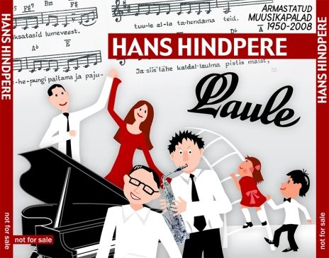Hans Hindpere CD-cover (2009)