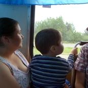 Karelia: in a bus