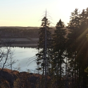 Karelia: lake Laadoga