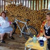 Komi: sitting in Kozlovka