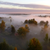 Komi, Syktyvkar: million $ view from my hotel