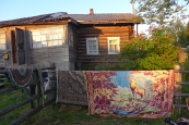 Komi: house in Kozlovka village