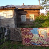Komi: house in Kozlovka village