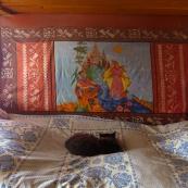 Komi: a carpet made by labor camp prisoner