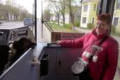 Leningrad oblast: bus ride in Ivangorod