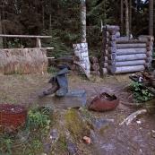 Leningrad oblast: memorial for 1937. a repression victims in Kurgola peninsula