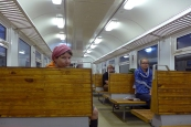 Leningrad oblast: train to Sosnovyi Bor