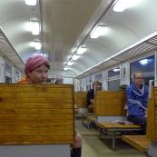 Leningrad oblast: train to Sosnovyi Bor