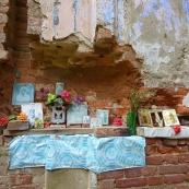 Leningrad oblast: a church near Vistino