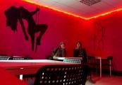 """Pskov oblast: cafe """"Homer"""" interior in Slantsy"""