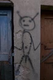 Pskov oblast: graffiti