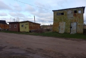 Pskov oblast: picturesque garages