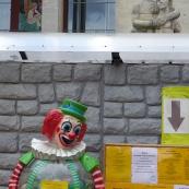 St. Petersburg: pioneers and a clown