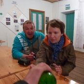 Siberia: party with Estonian guys in Ülem-Suetuk