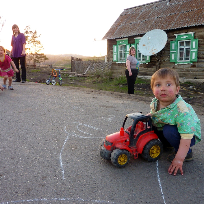 Siberia: an Estonian village
