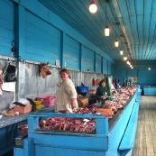 Siberia: old market in Minussinsk
